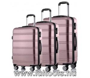 Hoffmann 3 részes bőrönd szett biztonsági kombinált zárral