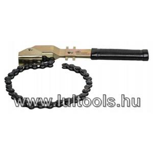 Láncos olajszűrő-leszedő 400mm