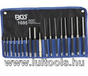 Sasszegkiütő készlet 100-150-200mm 1,5-9,5mm 18 darabos
