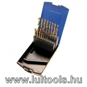 Spirálfúró készlet HSS 1-10 mm 19 darabos BGS-2014