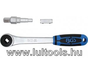 """BGS lépcsős kulcs készlet racsnis behajtóval 1/2""""-os (BGS-314)"""