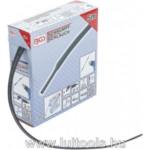 BGS-6852 Zsugorcső dobozban fekete Ø 8mm 5m