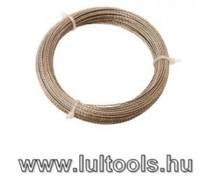 Szélvédő kivágó drót 25m csavart