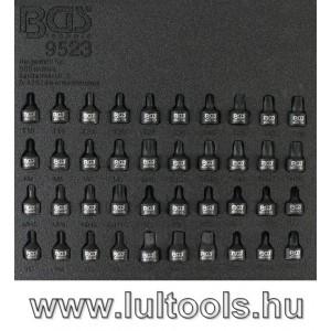 """BGS-9523 Levegős dugókulcskészlet 1/4"""" 40 darabos"""