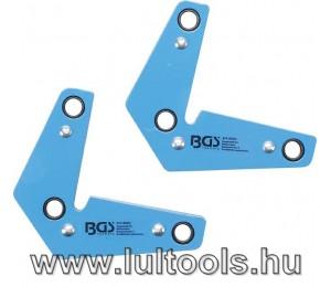 Mágneses szögbeállító készlet L-alakú BGS-9684