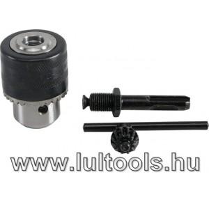 BGS Kulcsos tokmány + SDS-Plus adapter + tokmánykulcs (BGS-9937)