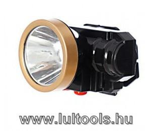 Akkumulátoros fejlámpa AS-0509