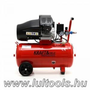 Kraftdele kompresszor 3.0 kW; 50l 2 hengeres