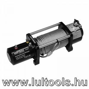 Elektromos drótköteles csörlő 12V 4300Kg