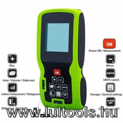 Szintezők - távolságmérők - infra hőmérők