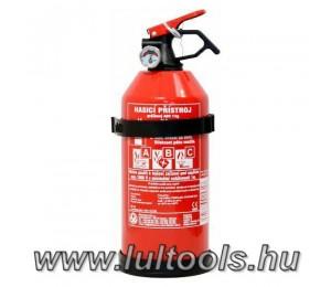 Tűzoltó készülék 1 kg poroltó ABC manométerrel