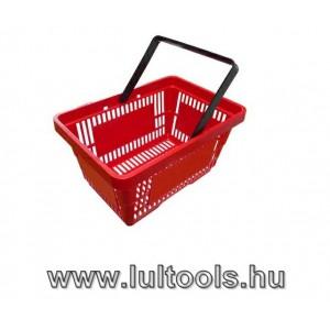 Műanyag bevásárlókosár