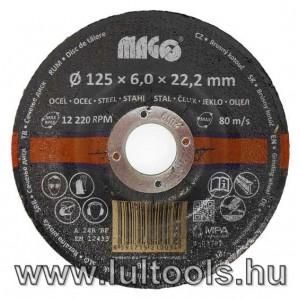 Csiszolótárcsa 125x6mm