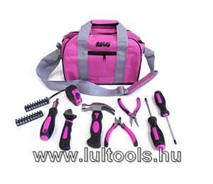 Szerszámkészlet nőknek, 28 db-os + hordozható táska