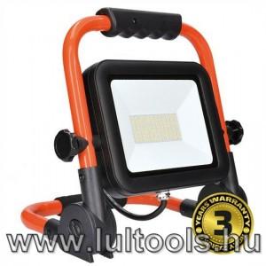 LED reflektor, dönthető állvány, 100W, 8500L, 5000K