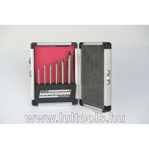 Üvegfúró készlet 3-10 mm