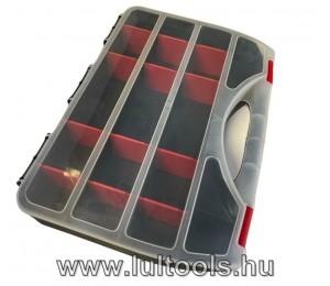 Szortimenter, műanyag szervező 360x265x70mm