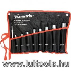 Csőkulcs készlet 8r. 6-22 MTX 137259