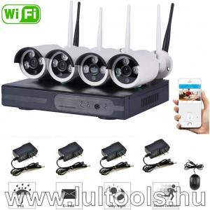 WIFI-s megfigyelő rendszer 4 kamerával