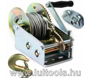 Kézi drótköteles csörlő 1125Kg-os teherbírás