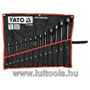 Csavart csillag-villás kulcs klt 10-32mm YATO