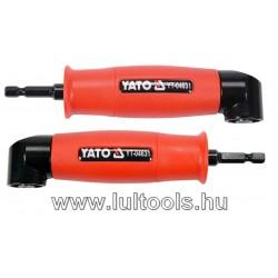 """Szög adapter 155mm, 1/4"""" YT-04631"""