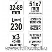 Hengerhonoló 32-89mm átmérőig YT-05811