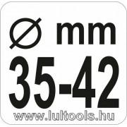 Axiál csukló szerelő 35-42mm Yato