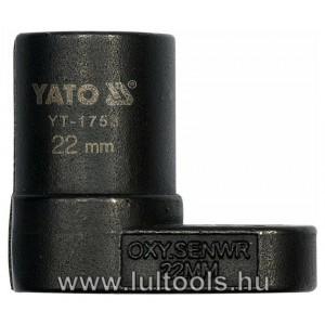 Dugókulcs lambda szondához 22mm YT-1753