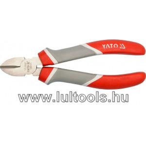 Oldalcsípő fogó 180mm YT-2037