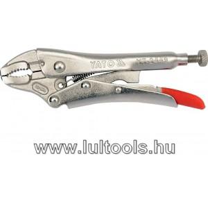 Állítható önzáró fogó - Grippfogó 125mm YT-2449