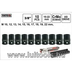"""Yato Gépi dugókulcs készlet 3/8"""" (YT-37690)"""