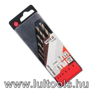 YATO 6 részes HSS-CO fúrókészlet 2-8mm