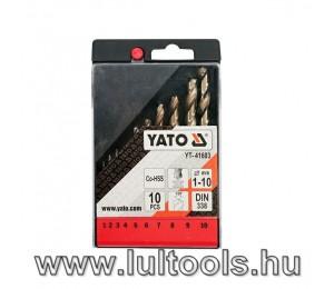 Yato Fúrószár készlet CO-HSS (YT-41603)