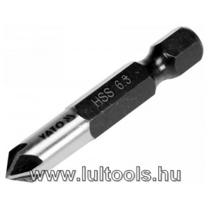 Kúpos süllyesztő fémre HSS 6.3mm YT-44721