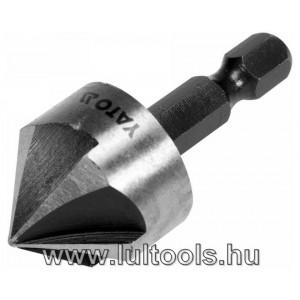 Kúpos süllyesztő fémre HSS 20,5mm YT-44726