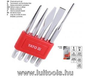Pontozó készlet 5 részes CrV60 YATO