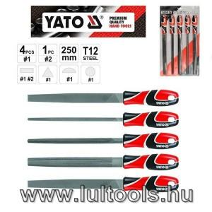 YATO Reszelő klt. 5r. 250mm durva (YT-6238)