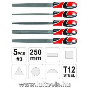 Reszelő klt 5 részes 250mm YATO
