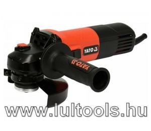 Elektromos sarokcsiszoló fordulatszám szabályzós M14 125 mm 1100 W YATO