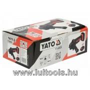 Akkus sarokcsiszoló 18 V 125 mm (2 x 3,0Ah akku + töltő) YATO