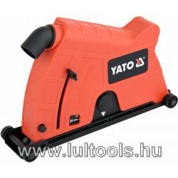 Sarokcsiszoló porelszívó adapter vágáshoz 230 mm YATO