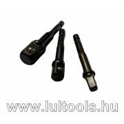 Gépi dugókulcs adapter készlet 3db-os