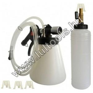 Féklégtelenítő sűrített levegős vákuumképzéssel + feltöltő tartály