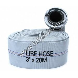 Tűzoltó tömlő 20m 3coll HA-1001