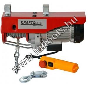 Elektromos csörlő 250/500Kg KD1525