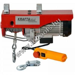 Elektromos csörlő 400/800Kg KD1526