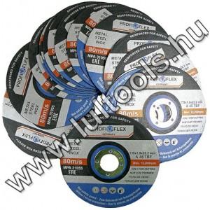 Inox fémvágókorong 115x1mm