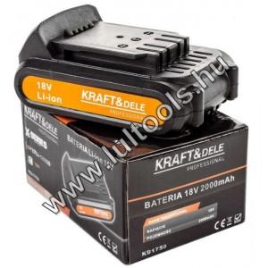 Kraftdele 18V akkumulátor
