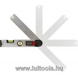 Vízmérték, digitális szögmérővel, 305mm